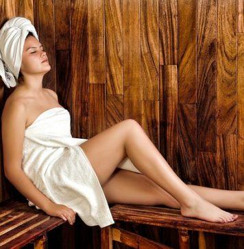 Sauna e bagno turco acqua, vapore e calore per la tua salute