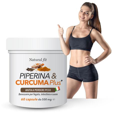 Piperina Curcuma Plus, opinioni, recensioni, forum, commenti