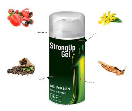 StrongUp Gel, effetti collaterali, controindicazioni