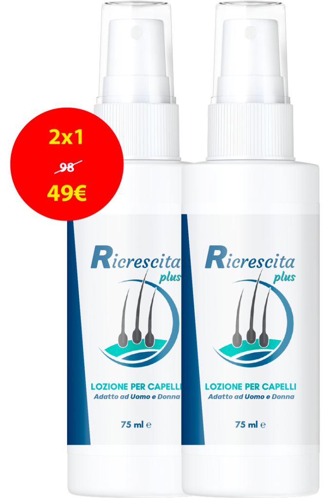 Ricrescita Plus, prezzo, recensioni, opinioni, forum, Italia, funziona